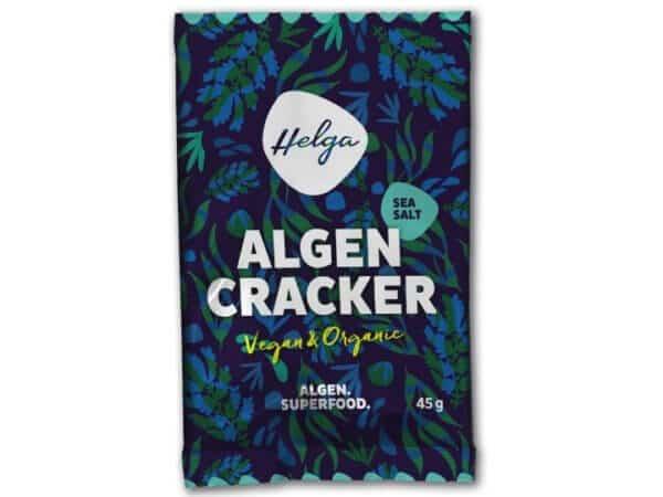 HELGA – Bio Algencracker SEA SALT mit Chlorella vulgaris 45g