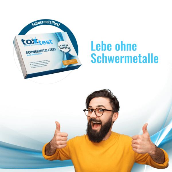 Lebe ohne Schwermetalle - ToxTest – Der Schwermetall Test zum Selbermachen - Urintest