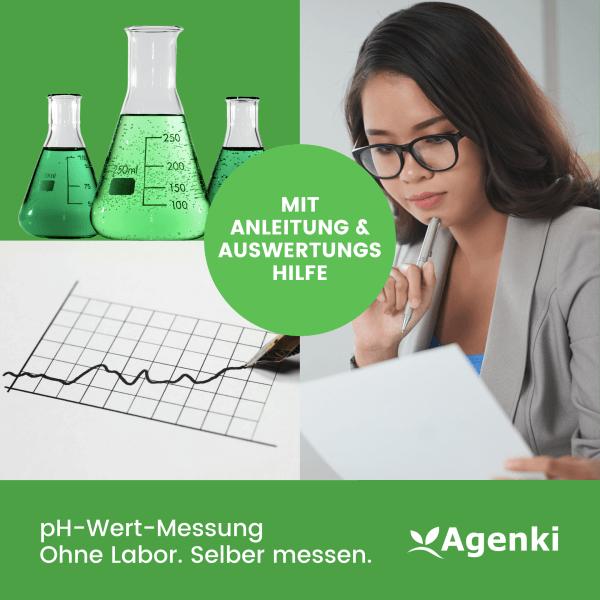 Agenki pH-Wert-Messung