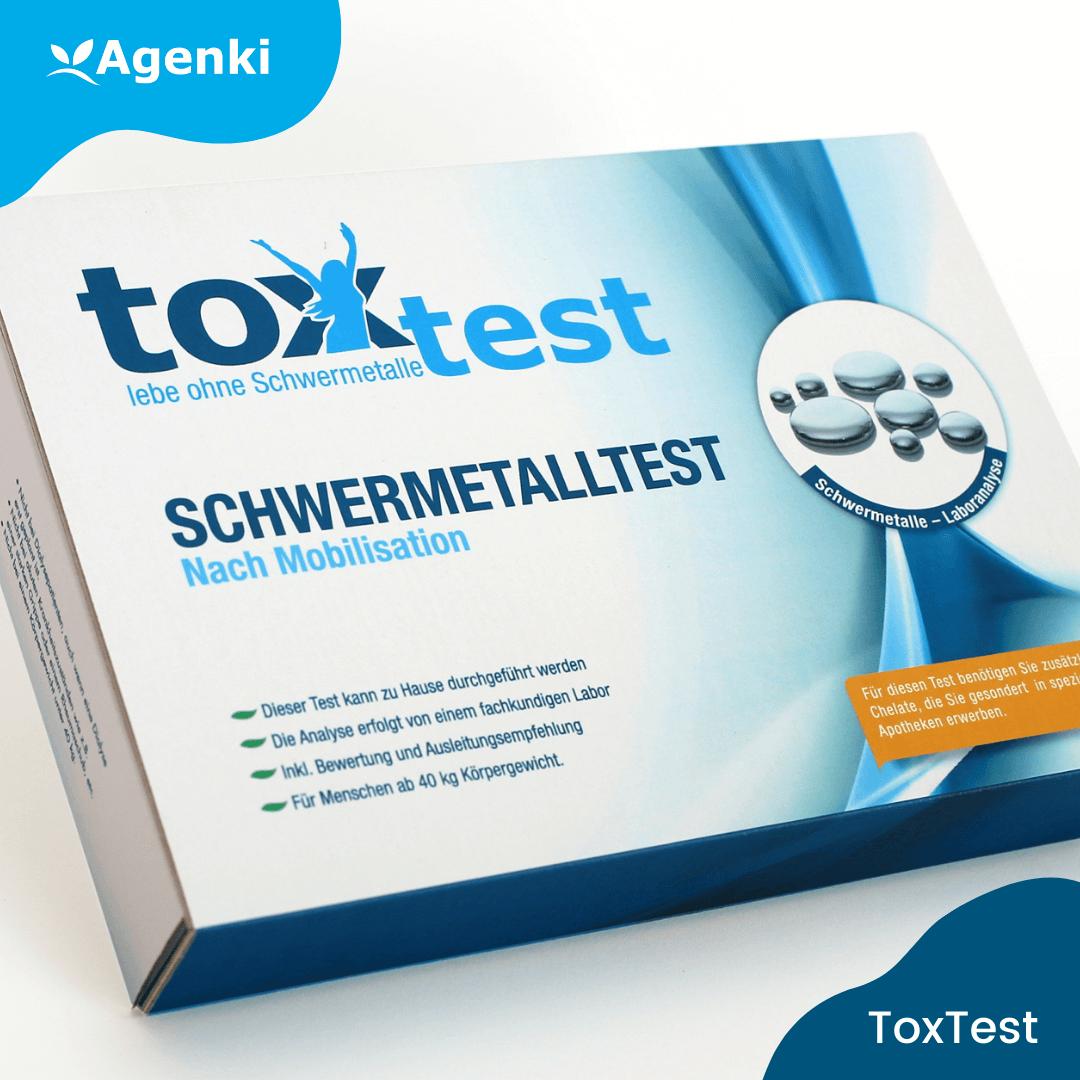 ToxTest – Der Schwermetalltest nach Mobilisation zum Selbermachen
