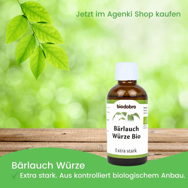 Bärlauchwürze Extra Stark - Biodobro - Agenki