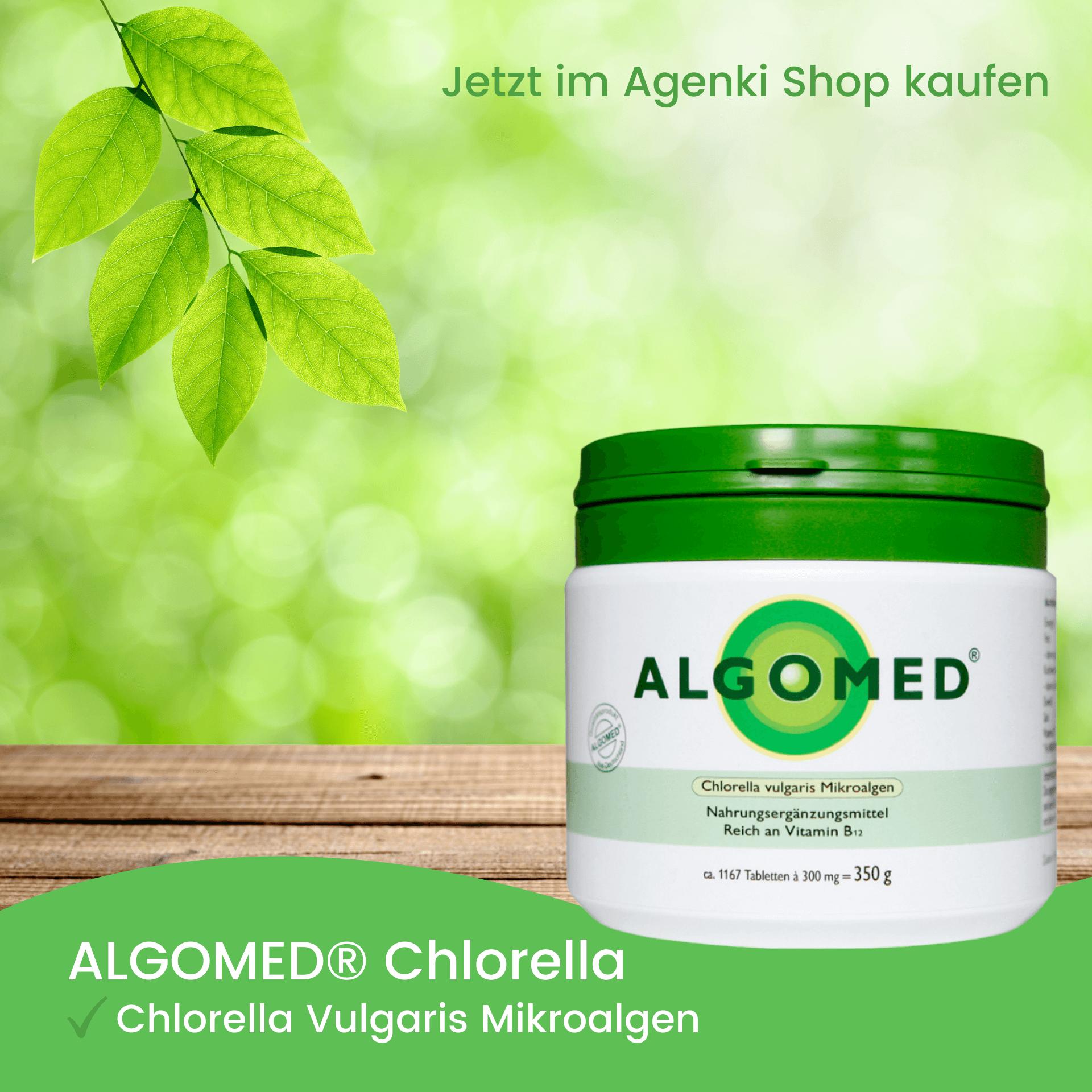 Chlorella Vulgaris Mikroalgen - Algomed Chlorella - Agenki