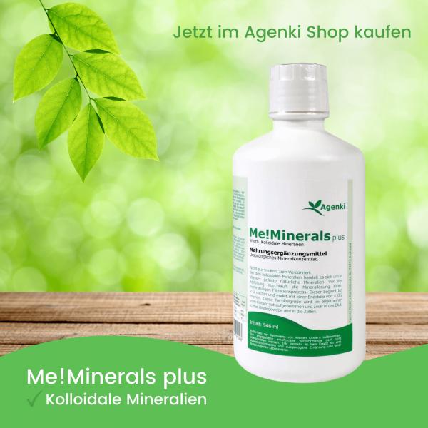Kolloidale Mineralien - Me!Minerals plus - Agenki
