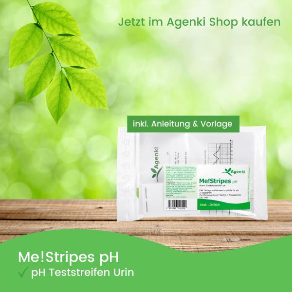 pH Teststreifen Urin - Me!Stripes pH - Agenki